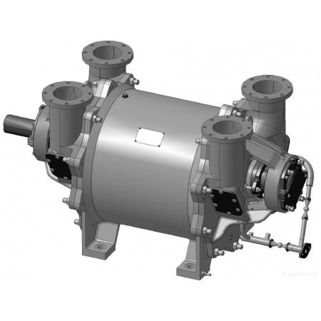 Насос ВВН2-150М вакуумный водокольцевой