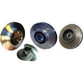 Рабочее колесо насоса КМ 50-32-120 из нержавеющей стали