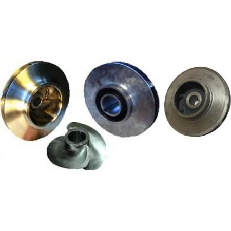 Рабочее колесо насоса КМ 50-32-160 из нержавеющей стали