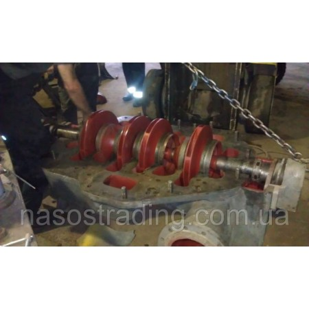Ротор насоса ЦН 400-210а, запчасти насоса ЦН 400-210а